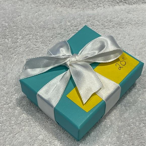 Tiffany&Co Co BRAND NEW Chain 20 inch Tiffany wrap